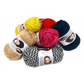 pelote de laine smc bravo big (14 coloris)