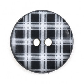 bouton rond vichy 12mm