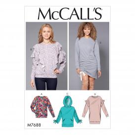 patron hauts et robes McCall's M7688
