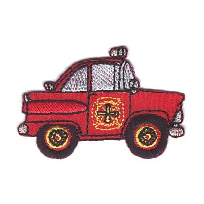 écusson voiture de pompier thermocollant