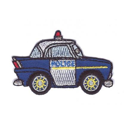 écusson voiture de police thermocollant