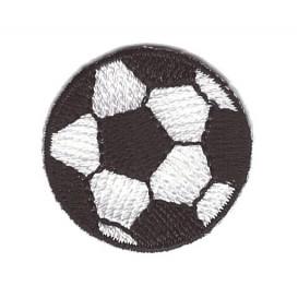 écusson ballon de foot 3cm thermocollant