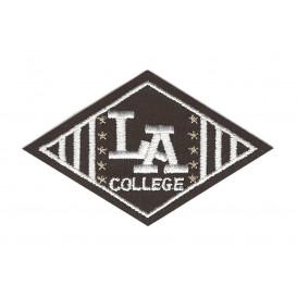 écusson losange college LA thermocollant