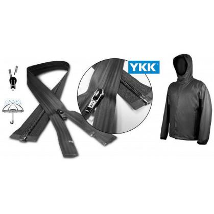 fermeture à glissière YKK imperméable 80cm