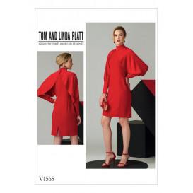 patron robe ajustée Vogue V1565