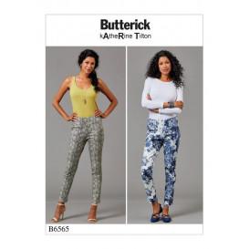 patron pantalon moulant Butterick B6565