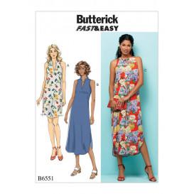 patron robe très ample Butterick B6551