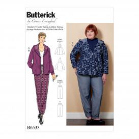patron veste et pantalon Butterick B6533