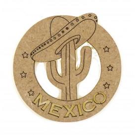 sujet en bois mexico