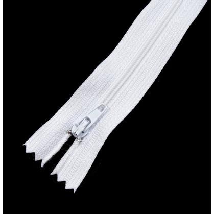 fermeture à glissière nylon non séparable