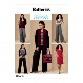 patron veste, haut, robe, combinaison Butterick B6600
