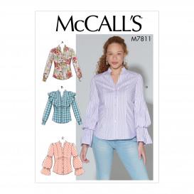 patron hauts ajustés McCall's M7811
