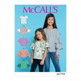 patron enfant hauts McCall's M7799