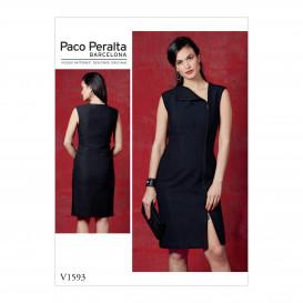 patron robe ajustée Vogue V1593