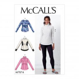 patron hauts et collants McCall's M7874