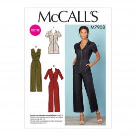 patron combinaisons McCall's M7908