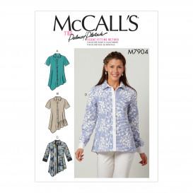 patron chemises amples McCall's M7904