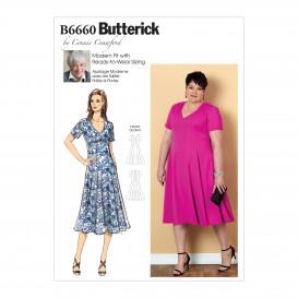 patron robe ample Butterick B6660