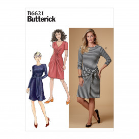 patron robe moulante Butterick B6621
