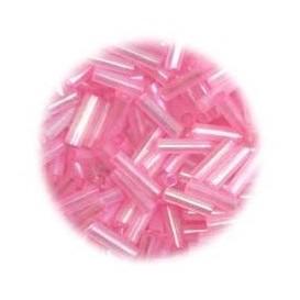 perles de verre batonnet fushia 15 gr