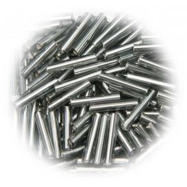 perle de verre longue tige métallique 15 gr
