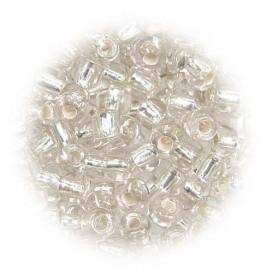 grosse perles de verre ronde argent 7 gr