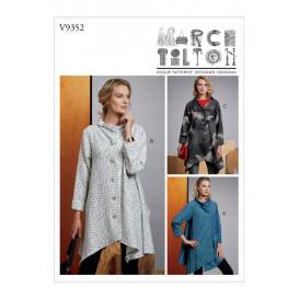 patron manteau très ample Vogue V9352
