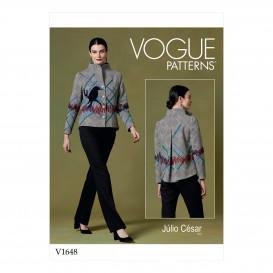 patron veste ample Vogue V1648