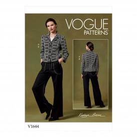 patron veste et pantalon Vogue V1644