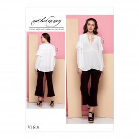 patron tunique et pantalon Vogue V1618