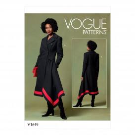 patron manteau Vogue V1649