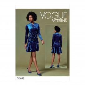 patron haut, robe et pantalon Vogue V1632