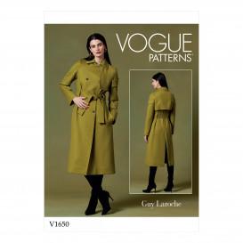 patron manteau Vogue V1650