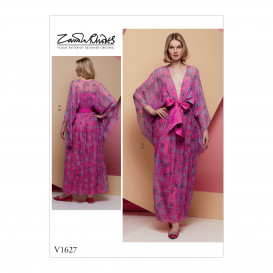 patron occasion spéciale robe Vogue V1627