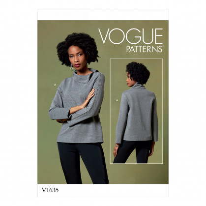 patron haut Vogue V1635