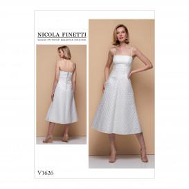 patron occasion spéciale robe Vogue V1626