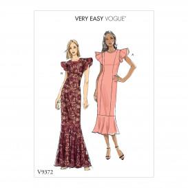 patron occasion spéciale robe Vogue V9372