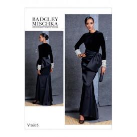 patron haut et jupe Vogue V1605