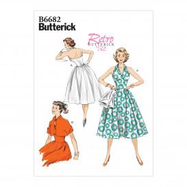patron robe et veste Butterick B6682