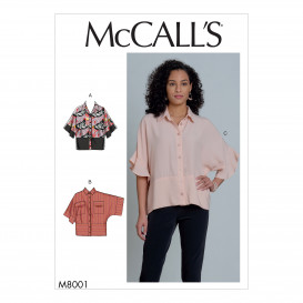 patron hauts McCall's M8001
