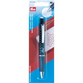 stylo à mines extra fin 0,9mm blanc