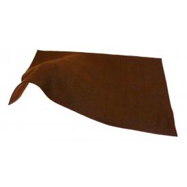 feuille de feutrine A4 marron foncé