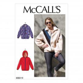 patron veste doublée McCall's M8019