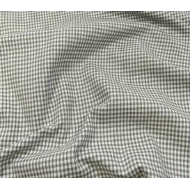 coupon coton vichy 2mm gris