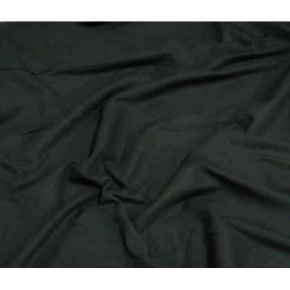 coupon coton uni noir laize 150cm