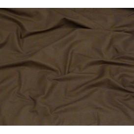 coupon coton uni marron