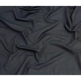 coupon coton uni bleu marine