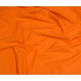 tissu coton uni orange foncé largeur 150cm x 50cm