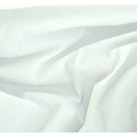 tissu popeline blanc largeur 145cm au mètre