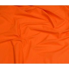 coupon popeline uni orange
